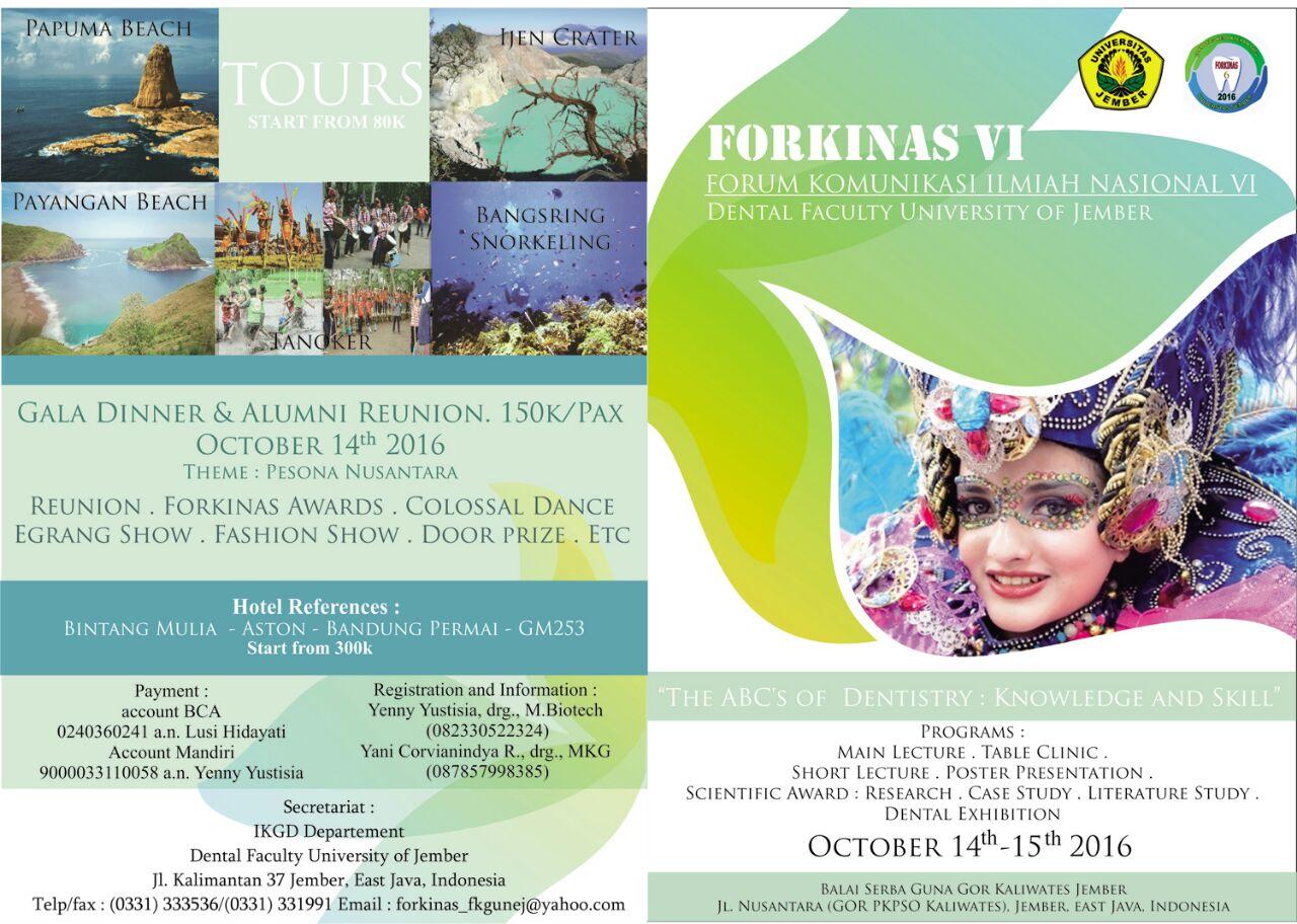 FORKINAS VI (Forum Komunikasi Ilmiah Nasional)