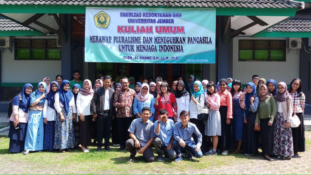 Kuliah Umum: Merawat Pluralisme dan Meneguhkan Pancasila untuk menjaga Indonesia