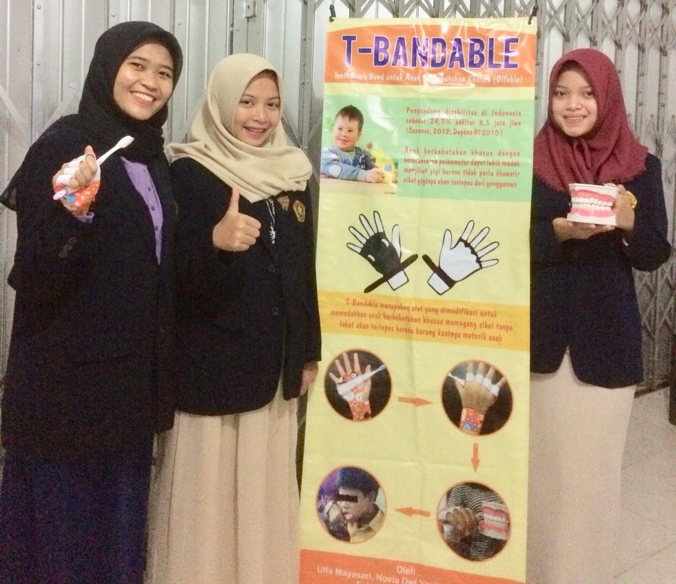 <em>T-Bandable</em>, Hasil Karya Cipta PKM FKG Universitas Jember